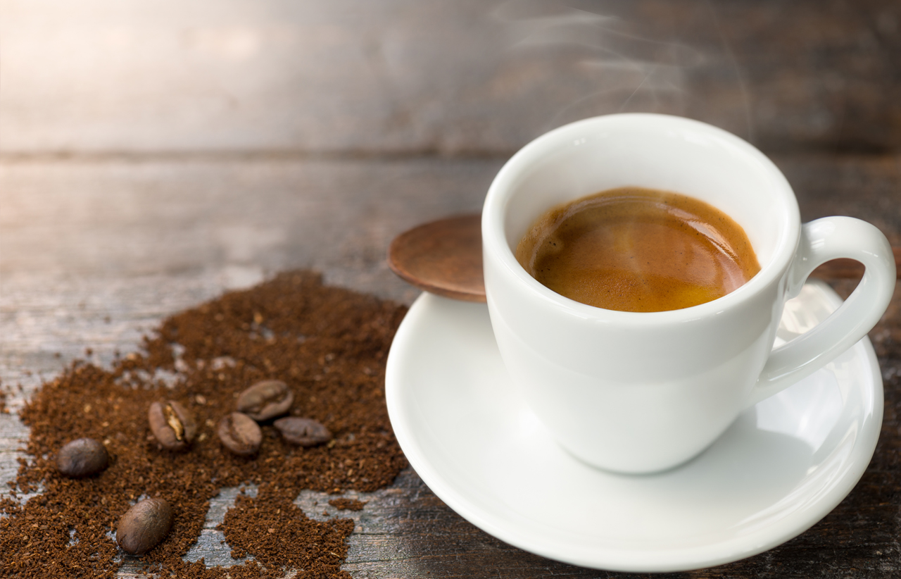 Italians invented the Espresso, the best way to obtain from roasted coffee beans all the pleasure that this product  is able to offer.